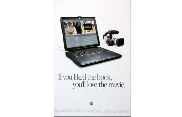 10 Of The Best Apple Print Ads Of All Time -If you liked the book, you'll love the movie.