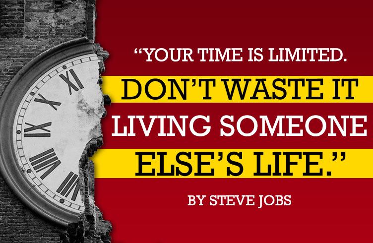 Steve Jobs on managing your time