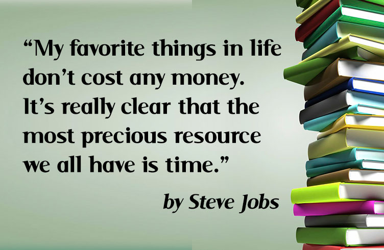 Steve Jobs on resources