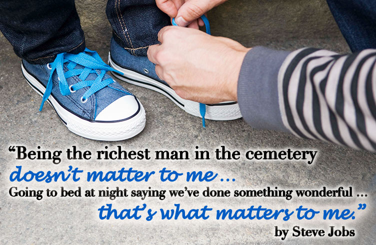 Steve Jobs on what matters