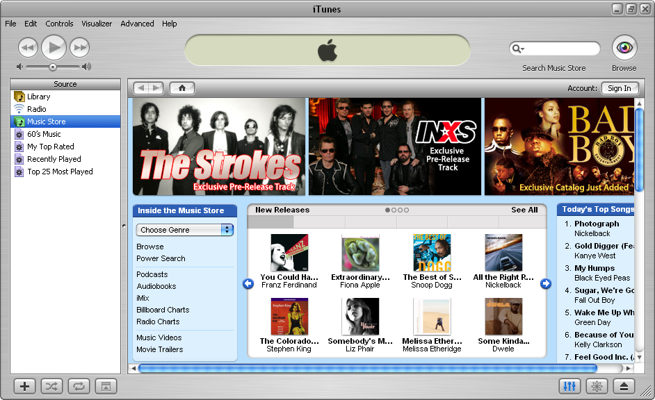 The Sweet Sound of iTunes